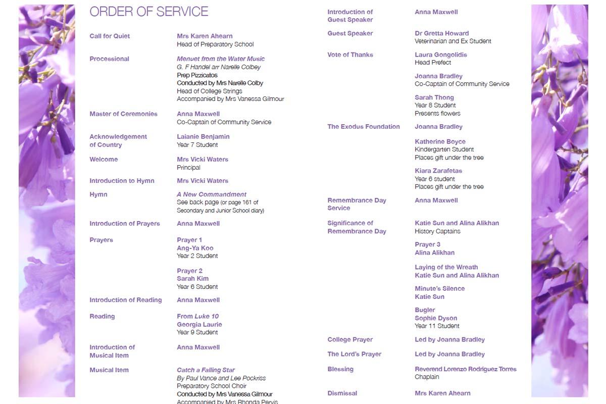 PLC Jacaranda Service Page 2